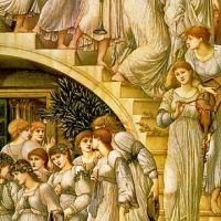 Burne-jones The Golden Stairs