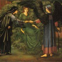 Burne-jones The Heart Of The Rose