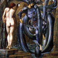Burne-jones The Perseus Series The Doom Fulfilled 1884 85
