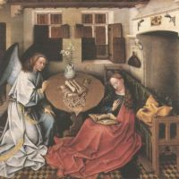 Campin Robert Annunciation