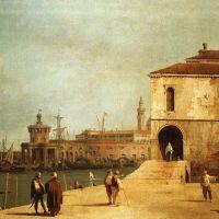 Canaletto Fonteghetto Della Farina