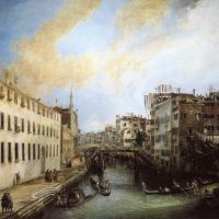 Canaletto Rio Dei Mendicanti