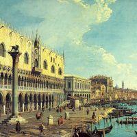 Canaletto Riva Degli Schiavoni Looking East