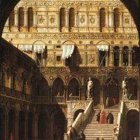 Canaletto Scala Dei Giganti