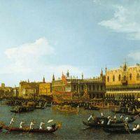 Canaletto The Bucintoro Venice