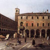 Canaletto The Campo Di Rialto