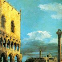 Canaletto The Piazzetta Towards San Giorgio Maggiore
