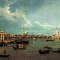 Canaletto Venice - The Basin From The Giudecca