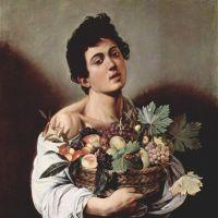 Caravaggio Boy With A Fruit Basket