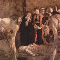 Caravaggio Burial Of Saint Lucy