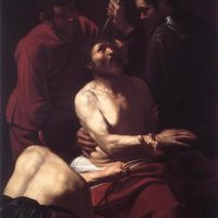 Caravaggio Crowning With Thorns