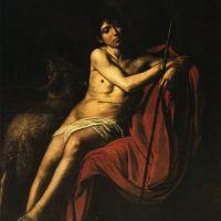 Caravaggio John The Baptist -1610