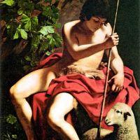 Caravaggio John The Baptist - 1598