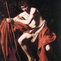 Caravaggio John The Baptist - 1604