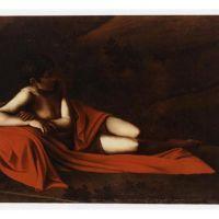 Caravaggio John The Baptist Reclining Baptist