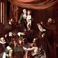 Caravaggio Madonna Of The Rosary