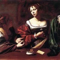 Caravaggio Martha And Mary Magdalene