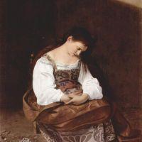 Caravaggio Penitent Magdalene