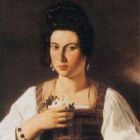 Caravaggio Portrait Of A Courtesan
