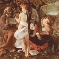 Caravaggio Rest On The Flight Into Egypt