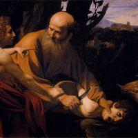 Caravaggio Sacrifice Of Isaac - 1602