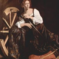 Caravaggio Saint Catherine Of Alexandria