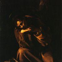 Caravaggio Saint Francis In Meditation