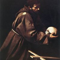 Caravaggio Saint Francis In Prayer