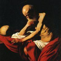 Caravaggio Saint Jerome In Meditation