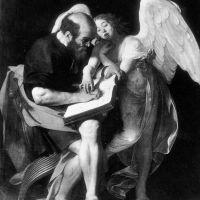 Caravaggio Saint Matthew And The Angel