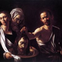 Caravaggio Salome With The Head Of John The Baptist - 1607