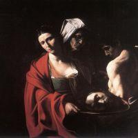 Caravaggio Salome With The Head Of John The Baptiste - 1609
