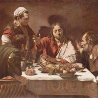 Caravaggio Supper At Emmaus -1602