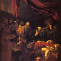 Caravaggio The Death Of The Virgin