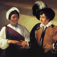 Caravaggio The Fortune Teller