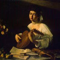 Caravaggio The Lute Player - 1596