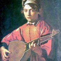 Caravaggio The Lute Player - 1597