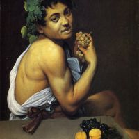 Caravaggio Young Sick Bacchus