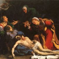 Carracci Annibbale The Lamentation Of Christ