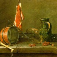Chardin A Lean Diet With Cooking Ustensils