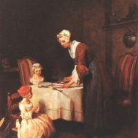 Chardin Le Benedicite