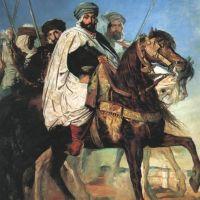 Chasseriau Theodore Portrait Equestre D Ali Ben Hamet
