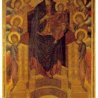 Cimabue The Santa Trinata Madonna