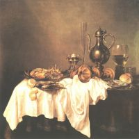 Claesz Heda Willem Breakfast With Lobster