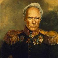 Clint Eastwood George Dawe Style