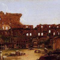 Cole Interior Of The Colosseum Rome