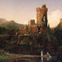 Cole Landscape Composition Italian Scenery