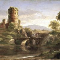Cole Ruined Castle And River