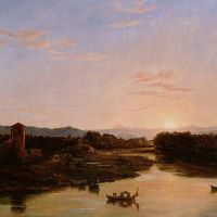 Cole Sunset Of The Arno