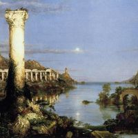 Cole The Course Of Empire- Desolation -1836